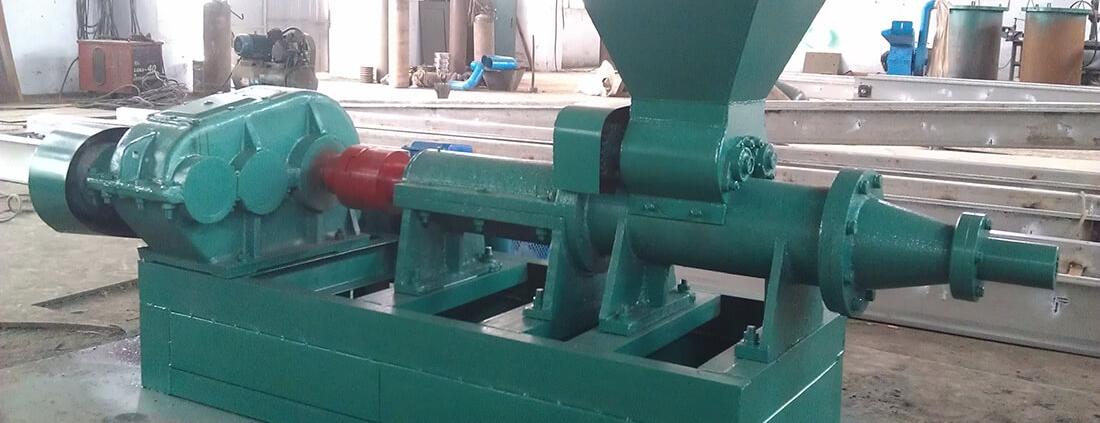 دستگاه تولید ذغال